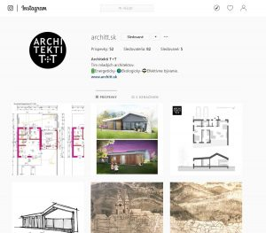 instagram Architekti T+T